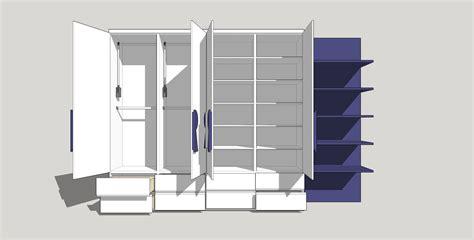 3d wardrobe design modern wardrobe free 3d model obj 3ds dae skp
