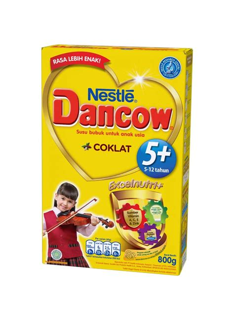 Dancow Coklat Bubuk Dancow Bubuk Inst Calci N 5 Excel Coklat Box 800g