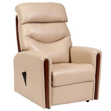 rising recliner chair santana leather electric rising recliner chair