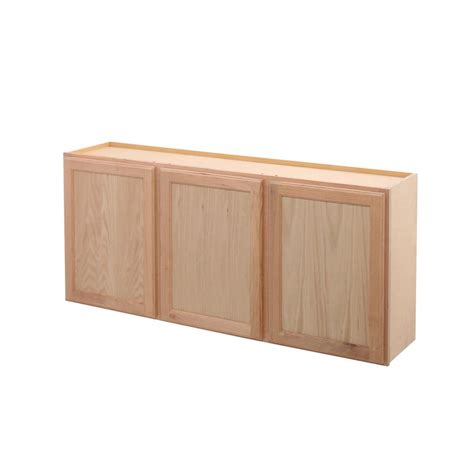 unfinished kitchen cabinet boxes assembled 54x24x12 in wall kitchen cabinet in unfinished