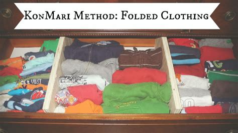 How To Fold Sweaters In A Drawer by Konmari Method Folded Clothing Diy Drawer Dividers
