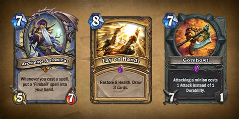 hearthstone gold card template hearthstone news of the cards blizzard s