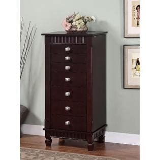 merlot jewelry armoire l powell contemporary quot merlot quot jewelry armoire