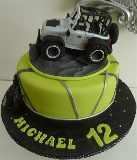 jeep cake topper how to make a fondant jeep autos post