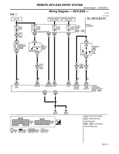 keyless entry wiring diagram repair guides electrical system 2002 remote keyless