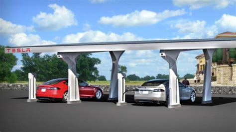 Tesla Supercharging Stations Canada Tesla S Network Will Expand In Canada