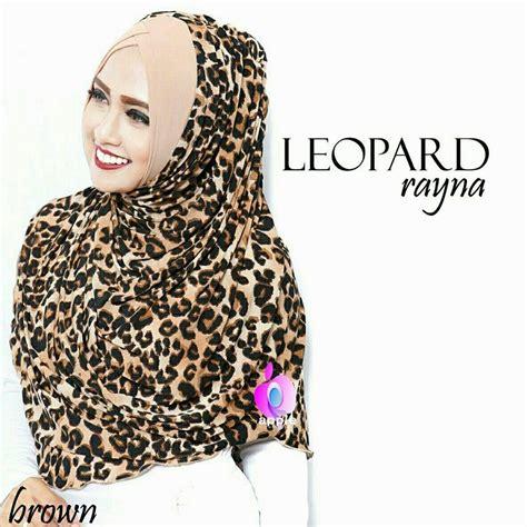 Jilbab Jersey Kombinasi Leopard Terbaru Jl538 jual rayna leopard by apple toko jilbab