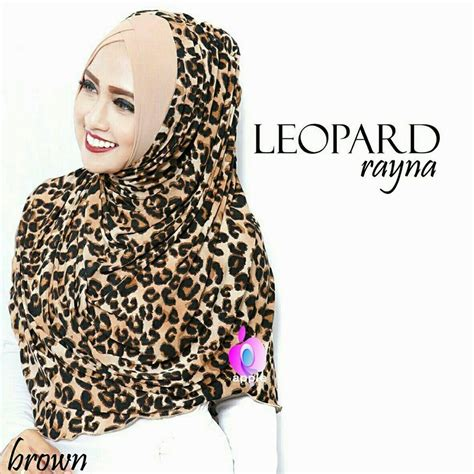 Khimar Leopard Antem Ori Cantika jilbab rayna leopard by apple jilbabbranded biz