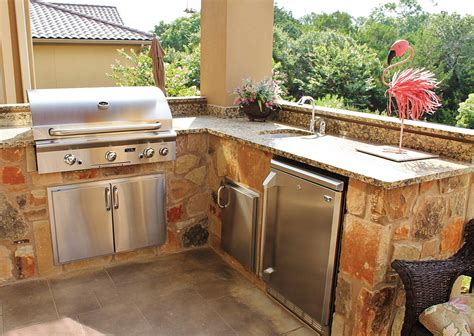 outdoor kitchens san antonio outdoor kitchen landscape gallery outdoor living