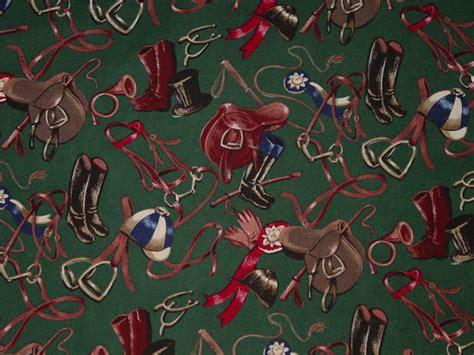 equestrian upholstery fabric robert kaufman equestrian fabric horse equestrian riding tack
