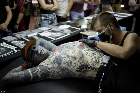 tattoo convention today israel tattoo convention sees fans from all over the world