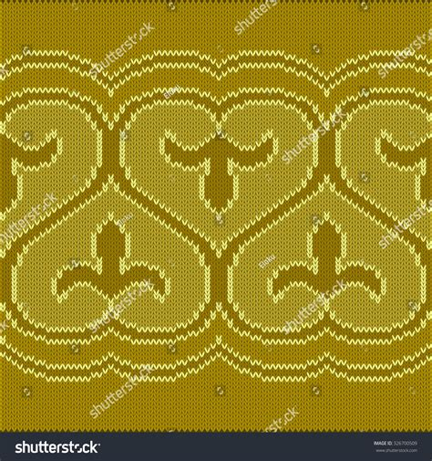 seamless knitted pattern vector vector illustration seamless knitted oriental pattern