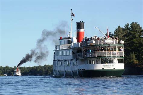 boat launch lake muskoka muskoka day trip with lunch cruise on lake muskoka