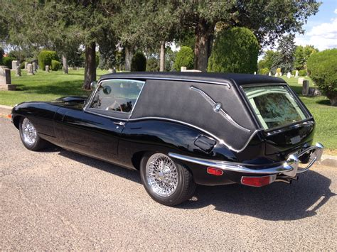 everything how about a ride in a jaguar hearse