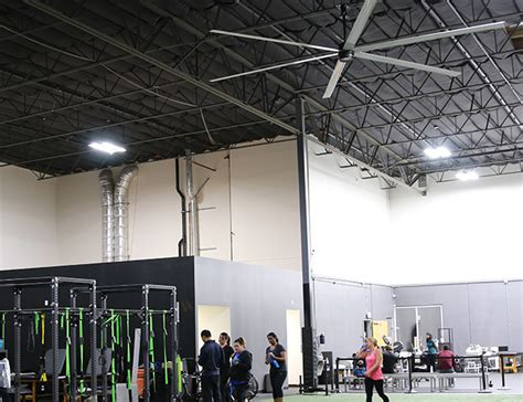 large fans for gyms why large fans are an ideal solution for gyms macroair fans