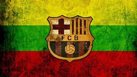 fc barcelona logo wallpapers wallpaper cave
