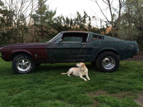 parts 1967 ford mustang fastback 2 door project for sale 1967 ford mustang fastback project