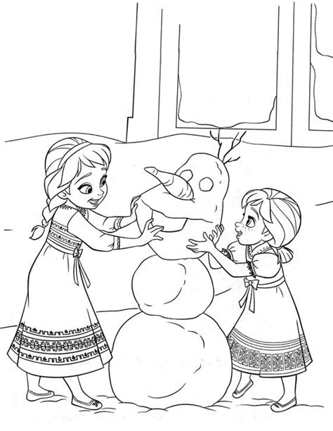 elsa christmas coloring pages printable coloriage reine des neiges pour les 2 ans du dessin anim 233