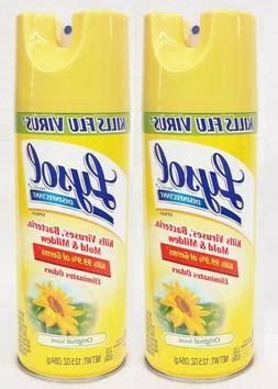 lysol virus spray roomspray