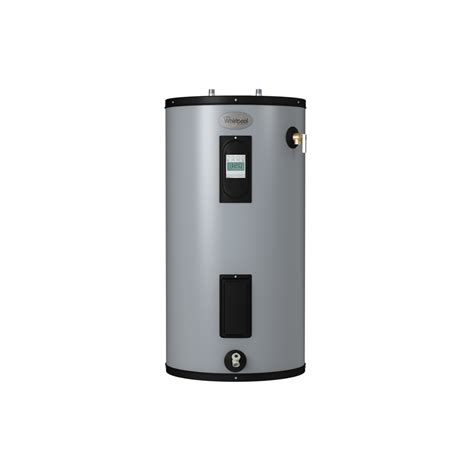 Small Water Heaters At Lowe S Shop Whirlpool 40 Gallon 240 Volt 9 Year Regular Electric