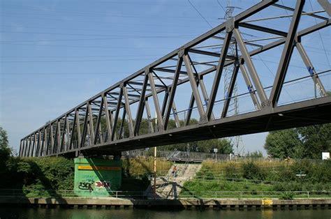 les ponts en treillis pont treillis no 319b oberhausen structurae