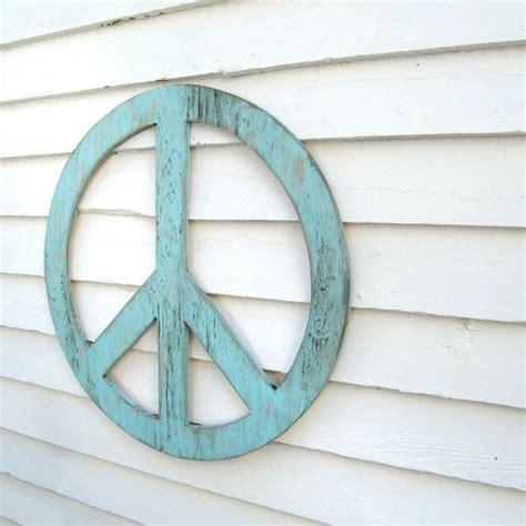 Peace Symbol Wall