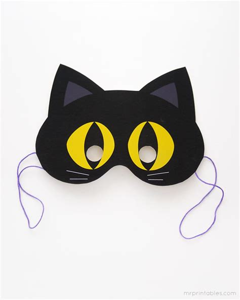 printable halloween masks printable halloween mask diy pinterest