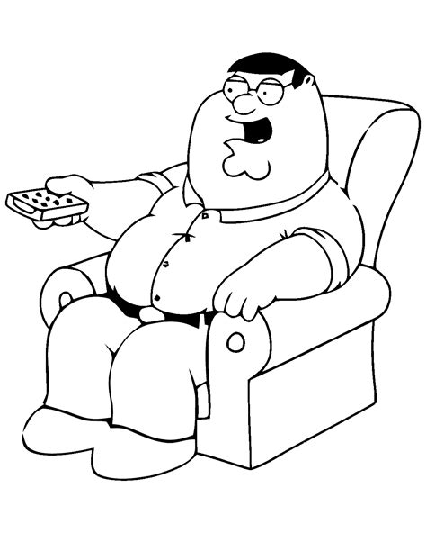 Family Guy Coloring Pages Coloring Pages To Print Coloring Pages For Guys