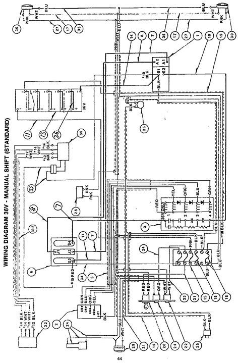wiring diagram for a ezgo golf cart wiring get any cars