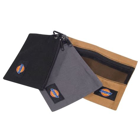 Combination Logo Purse by Dickies Small 3 Bag Combo 57018 The Home Depot