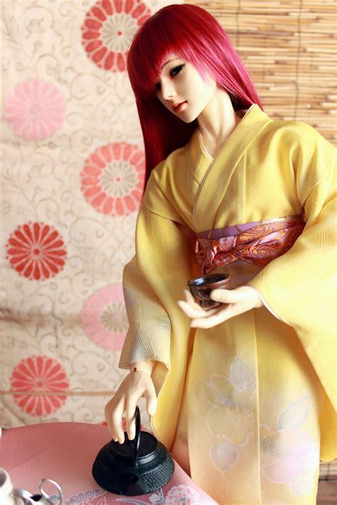kimono pattern bjd bjd kimono time for the teacup by inarisanscrafts on