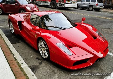 Red Ferrari Enzo by Red Ferrari Enzo Ferrari Enzo Spotted In Red Bank New
