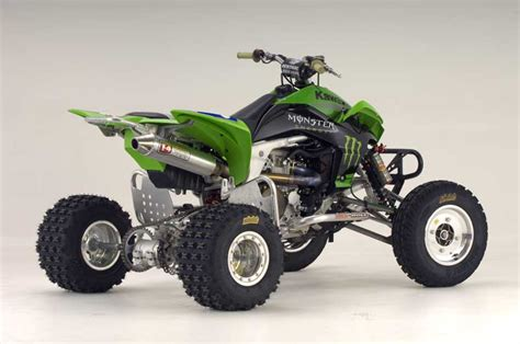 Atv Kawasaki Kfx450r Race kawasaki announces 2007 atv racing team road