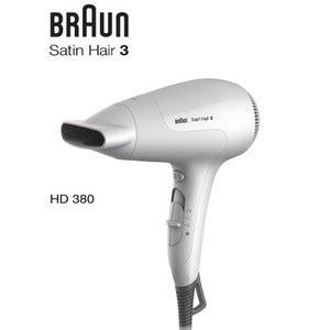 Braun Hair Dryer Hd 380 braun satin hair 3 powerperfection hd 380 parapharmacie