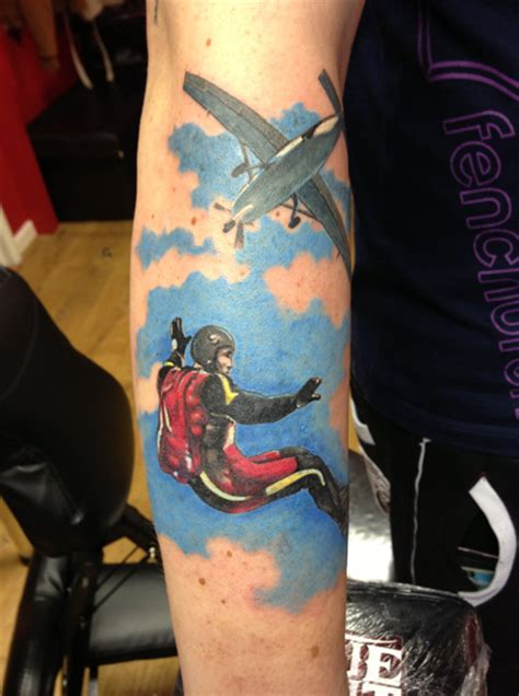 skydive tattoo designs 1000 images about skydiving tattoos on