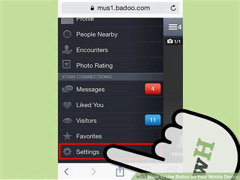badoo mobile how to use badoo on your mobile device with pictures