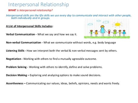 who recommended skills empathy interpersonal relationship