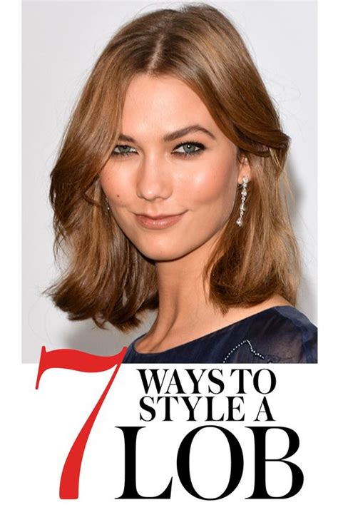 how to style a lob or long bob photos momtastic 7 easy ways to style midlength hair bobs halflang en