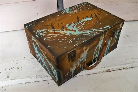 Decorative Storage Box With Lid by Metal Box With Lid Decorative Storage Farm
