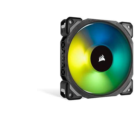 Corsair Ml120 Pro Blue corsair ml120 pro rgb led fan with lighting node 3 pack