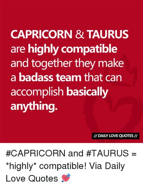 capricorn taurus are highly compatible and together they