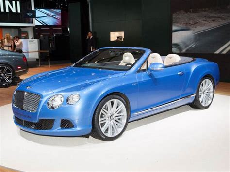 bentley convertible blue 2014 bentley continental gt speed convertible detroit