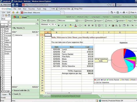Spreadsheet Software Free by Free Spreadsheet Programs Spreadsheet Templates For