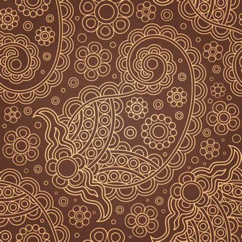 brown pattern design paisley pattern free vector download 18 681 free vector