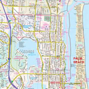 map of west palm florida county roller maps west palm palm co fl