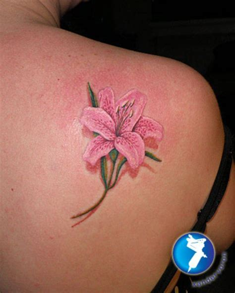 small flower tattoos on back shoulder small search tattoos