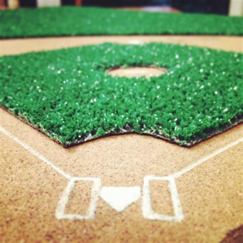 how to make a baseball field in your backyard diy baseball diamond bulletin board landeelu com