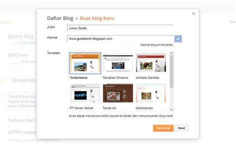 membuat blog dengan gratis membuat blog gratis dengan blogger terbaru 2015 update