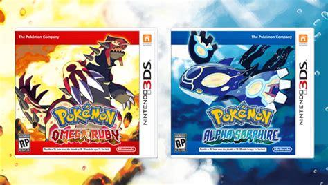 pokemon 12 rub y m 225 s de 7 7 millones de copias de rub 237 omega y zafiro alfa vendidas en el mundo centro pok 233 mon