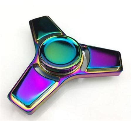 Neo Chrome Rainbow Speedy Metal Aluminium Fidget neo chrome delta fidget spinner fidget spinner uk